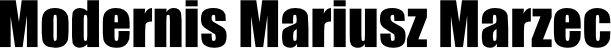 Modernis Mariusz Marzec logo